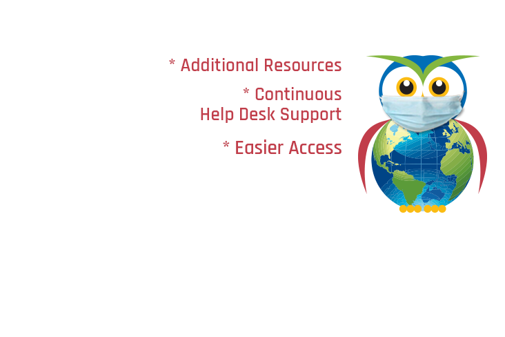 AVL Owl with Medical Mask - Additional Resources, Continuous Help Desk Support, and Easier Access